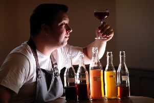 James Banks, says the drinks at Roots and the Michel-starred Black Swan at Oldstead complement his brother Tommy's food Picture by Simon Hulme