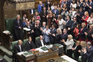 Opposition MPs applaud John Bercow after he announced that he was stepping down as Speaker - but are they right to block no-deal Brexit?