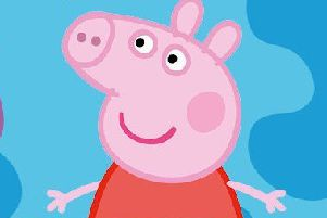 Family fun: Peppa Pig.