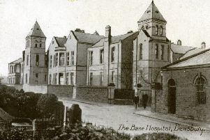 Old Workhouse: This picture of the old Staincliffe Hospital in Healds Road, taken over a hundred years ago, was built on the site of the old Workhouse. Although the building is still in use by the NHS, many older people continue to refer to it as the old Workhouse. During World War One, it was used as the base hospital for wounded soldiers.