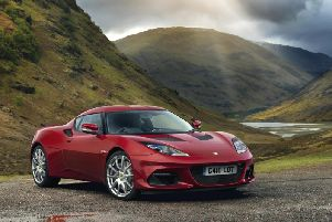 The new version of the Lotus Evora
