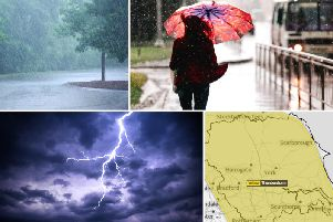 The Met Office have just issued a new yellow weather warning for Yorkshire and the Humber, as thunderstorms are now expected to hit TODAY.