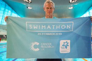 Swimming champion  Mark Foster is encouraging people to take part in the sessions at Dewsbury Sports Centre.