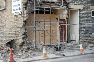 Jay Rice's home in Liversedge has been destroyed.