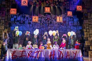 Matilda is at the Bradford Alhambra until March 23
