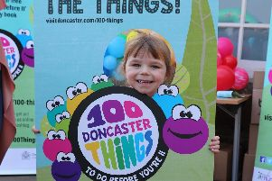 Doncaster Council launches the 100 things to do before you're 11campaign