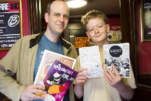 Scribblecon will be held at the Gold Lion in Todmorden