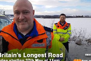 A1: Britain's Longest Road. Photo provided by the Highways Agency.