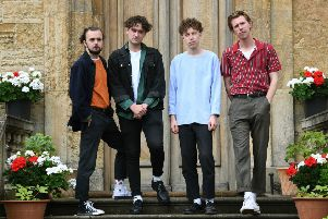 Leeds band Marsicans at Bramham. Picture: Jonathan Gawthorpe