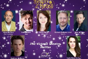 The cast of the panto at the Victoria Theatre has been revealed