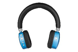 The PuroQuiet headphones come in blue and black or pink and white