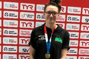 Georgina Wright who won a gold medal at the national competition