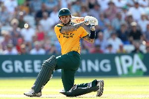 Alex Hales has extended his deal at the Outlaws.