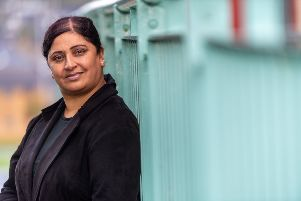 Date: 4th September 2019.'Picture James Hardisty.'Rehana Kosar, of Bradford, who has had an organ transplant, and because of the change to the asian ruling on organ transplant she is now urging people especially from the asain communite to join the organ donor register.