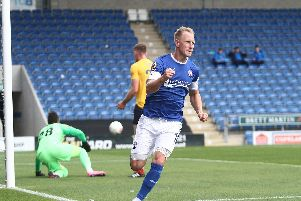 Scott Boden hit the only goal of the game as Chesterfield sealed a 1-0 win.