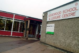 Edgewood Leisure Centre, which could soon face another fight to avoid closure.