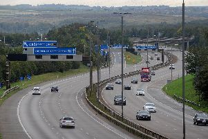 The M1 to A1 Lofthouse to Bramham link road. Pic: Simon Hulme.