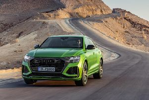 A quick SUV from Audi