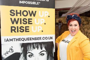 Dani Wallace, of Preston, who is a motivational speaker with I Am The Queen Bee.'Photo credit Piero Belmonte Photography