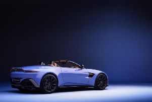The new Aston Martin Vantage Roadster