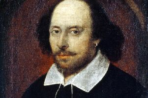 The Chandos portrait of William Shakespeare, attributed to John Taylor. Picture National Portrait Gallery