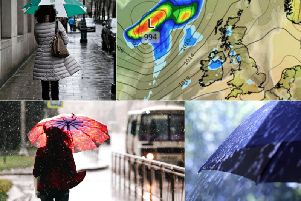 Will the weather this weekend in Leeds be bright and sunny or bleak and grey?