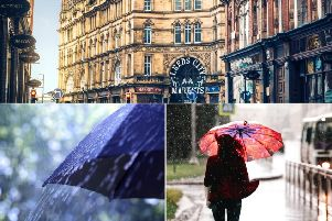 Will today's rain continue over the rest of the weekend?
