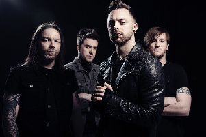 Bullet For My Valentine, set to appear at the 2019 Slam Dunk Festival.