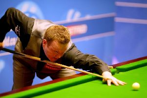 OUT: Former champion Shaun Murphy. Picture: Richard Sellers/PA