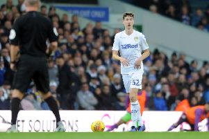 Leeds United's young centre-half Aapo Halme.