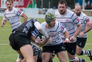 Action from Grasshoppers' victory last weekend (photo: Mike Craig)