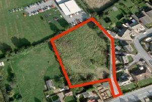 The site where five homes were planned has been rejected