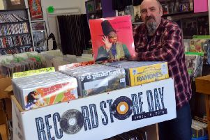 Marty Yule, owner of Hot Rats Records in Sunderland, is looking forward to Record Store Day 2019.