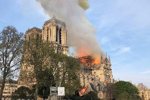 NOTRE DAME: Cash donations from France's billionaires came flooding in as the embers died down