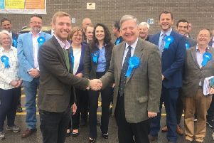The Conservatives have taken control of North East Derbyshire District Council. Picture: Lee Rowley MP (Twitter).