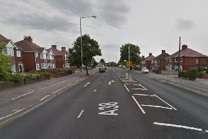 The alleged victim managed to flee in Sutton Road. Picture: Google Maps.