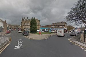 The incident took place on Northgate in Cleckheaton.