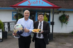 Scott's will open a franchise in China after attaining cult status in the country