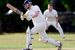 David Bolt struck 60 off just 27 balls at the top of the Mirfield Parish Cavaliers innings which set the platform for victory over Almondbury in the Huddersfield League Championship.