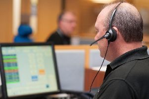 A call handler at Northumbria Police.