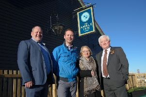 The Amble Inn was officially opened by Paul Brown, of The Inn Collection Group; Advance Northumberland chairman, Richard Wearmouth; Civic Head and Amble West with Warkworth councillor Jeff Watson and consort June Watson.