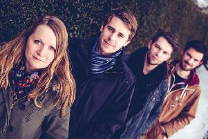 4Square, which will be performing at Middleton Village Hall next month as part of the Highlights Rural Touring Scheme.