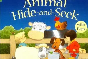 Animal Hide-and-Seek: Farmyard Tales Touchy and Feely Book by Jenny Tyler and Stephen Cartwright