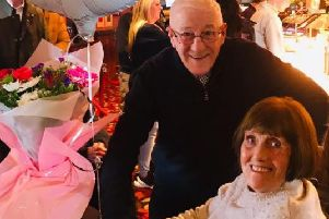 Brian and Pauline Passmore who celebrated their 60th wedding anniversary in Blackpool