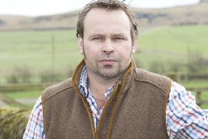 NFU Northumberland chairman Simon Bainbridge.