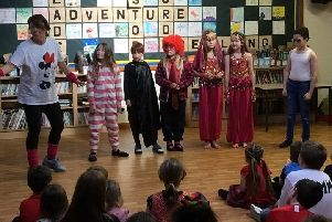 Barmby's Got Talent saw staff and children perform as singers, dancers, comedians and magicians.