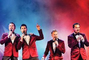 The Barricade Boys sing the hits from Le Mis ... and many more West End shows