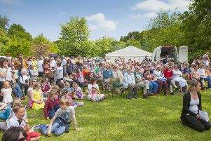 Attendees at a previous Ponteland Party in the Park. Picture by Trevor Walker.
