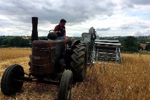 The Nottinghamshire group of the National Vintage Tractor & Engine Club will be holding their annual 'working weekend' near Retford over the August Bank Holiday.