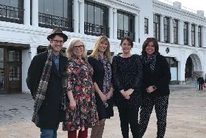 Paul and Lucy Hull, of The Love of the North; Sarah Hammersley and Mel Eaton, from WriteSpace; and Vikki Milne, of Blueberry Square, are organising Whitley Bay's first Poetry Festival.